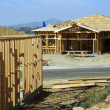 Stock Photo: Home Construction Site