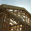 Construction Home Framing Abstract — Stock Photo #2360985
