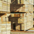 Stack of Construction Wood — Lizenzfreies Foto