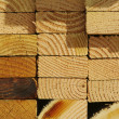 Stock Photo: Stack of Construction Wood