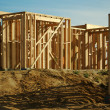 Construction Home Framing Abstract — Stock Photo