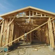 Construction Home Framing Abstract — Stock Photo #2361075