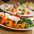 Vegetable Platter - Stock Photo