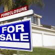 Foreclosure For Sale Real Estate Sign — Stock Photo #2367745