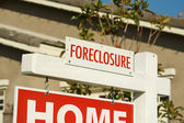 Foreclosure Real Estate Sign — Stock Photo