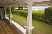 Oceanfront House Lanai — Stock Photo