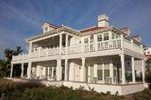 Resumo arquitetônico de fachada em casa — Foto Stock