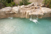 Tropical Custom Pool — Stock Photo