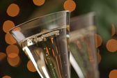 Champagne Glasses Abstract — Stock Photo