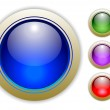 Set Colorful Vector Buttons — Stock Vector #2369038