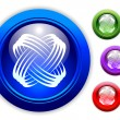 Universal Dynamic Icon Button Set - Imagen vectorial