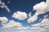 Krásné nebe a mraky — Stock fotografie