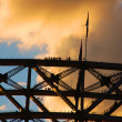 Stock Photo: Harbour Bridge Climb with