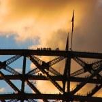 Harbour Bridge Climb with — Stock Photo