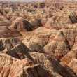 Badlands National Park in USA - Stock Photo