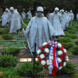 Korean War Veterans Memorial — 图库照片