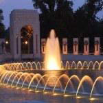 World War II Memorial in Washington — Stock Photo