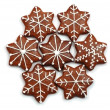 Christmas decorated sweets-ginger bread — Stock Photo #2331913
