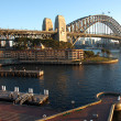 Stock Photo: Sydney Harbour Bridge at sunrise