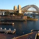 Sydney Harbour Bridge at sunrise — Stock Photo