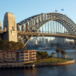 ponte Sydney harbour bridge — Foto Stock #2332034