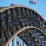 Harbour Bridge in Sydney, Australia — Stock Photo