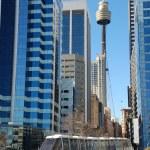 Sydney mono rail downtown — Stock Photo #2332308