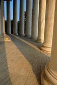 Pillars of Thomas Jefferson Memorial — Stock Photo