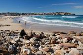 Bondi Beach with , Sydney — Stock Photo