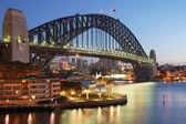 Sydney Harbour Bridge at sunrise — ストック写真