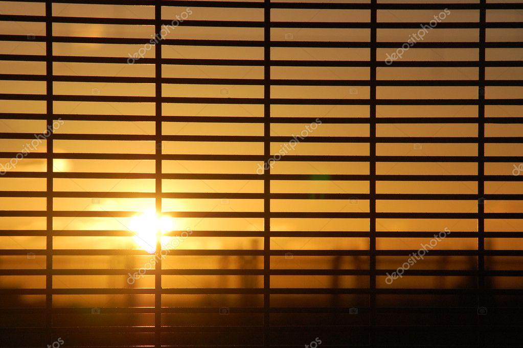 Windows Blinds With Sunrise Stock Photo 169 Jankratochvila