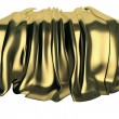 Golden drape — Stock Photo