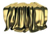 Golden drape — Stock Photo