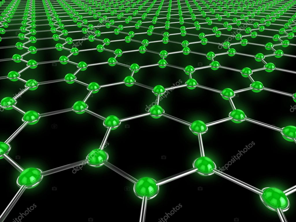 High quality abstract illustration which could be used to represent a network, connections, or technology in general. — Stock Photo #2594857