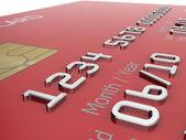 Credit card illustration — Stock Photo