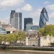 A view of the London skyline - Stock Photo