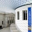 The Great Court in the British Museum in London — Stock Photo #2339925