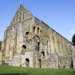 Ruins of Battle Abbey in England - Stock Photo