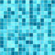 Stock Photo: Small blue tiles texture
