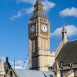 View of the Big Ben Tower — Stockfoto