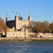 The Tower of London seen across the river Thames — Stock Photo