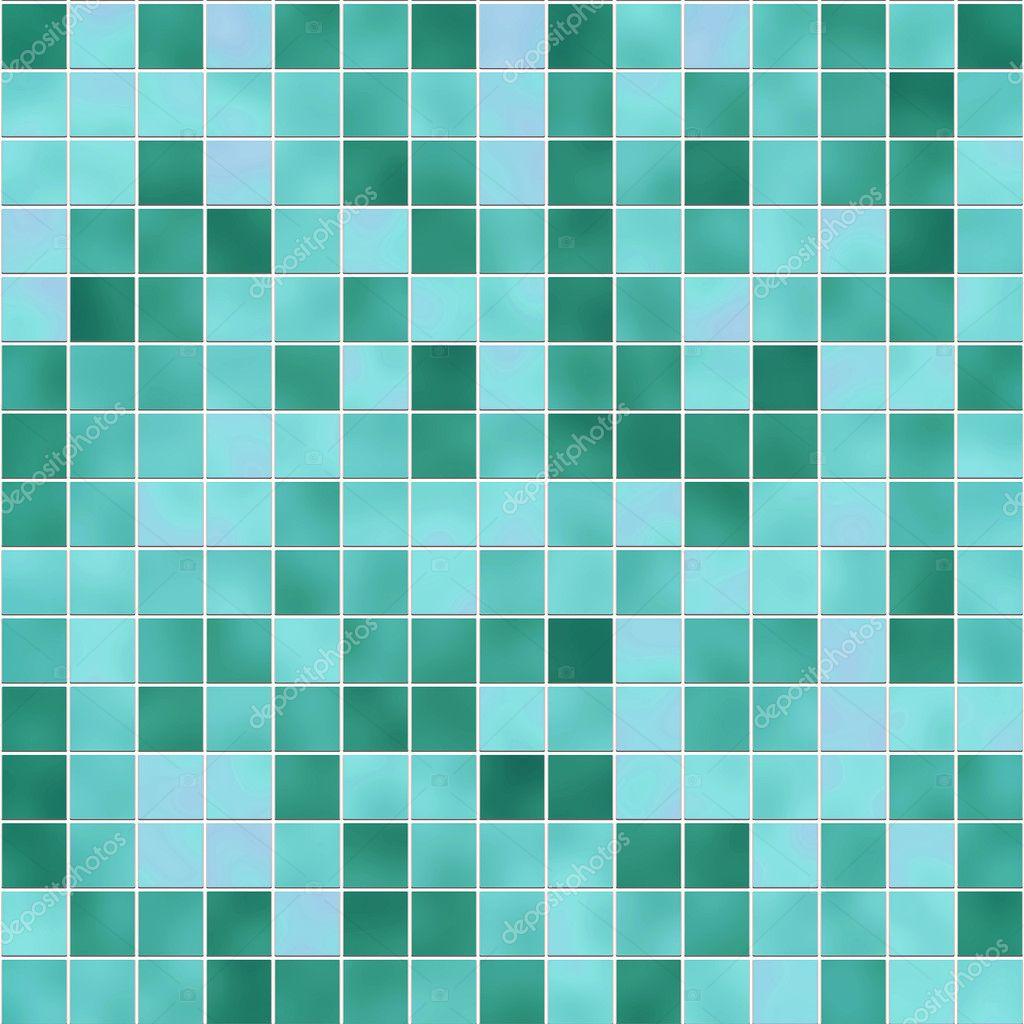Textura de azulejos verdes — Fotografias de Stock © kmiragaya #2345726