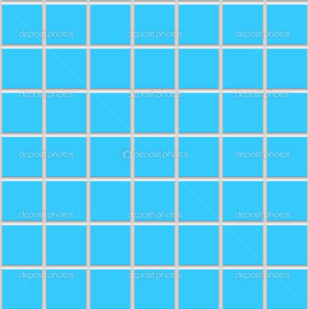 Ceramic tile blue
