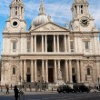 Stock Photo: St Paul Cathedral in London