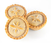 Christmas mince pies — Stock Photo