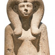 Stock Photo: Ancient bust of egyptigoddess