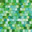 Shiny seamless green texture — Stock Photo
