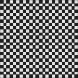 Seamless black and white texture — Stock Photo