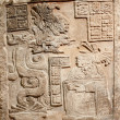 Old mexican relief carved in stone — Stock Photo #2366372