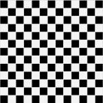 Seamless black and white texture — Stock Photo